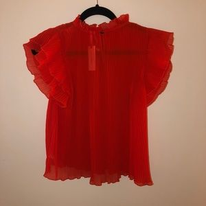 Anthropologie Tops - Anthropologie Pleated Blouse